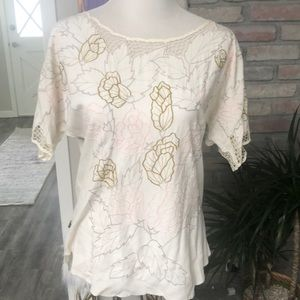 Embroidered MINKPINK blouse